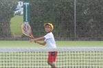 having the right size racket makes a huge difference when learning tennis